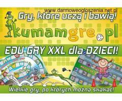 mega wielkie GRY dla DZIECI do skakania i edu zabawy SUPER GRY XXL