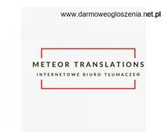 Tłumaczenia dla firm: rosyjski, angielski, niemiecki, francuski, ukraiński