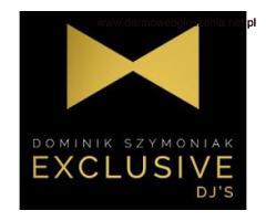 Dj na wesele Exclusive Djs Dominik Szymoniak Kraków