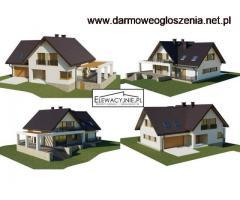 Projekty elewacji w formie wizualizacji 2D lub 3D