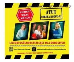 ATUT- Liceum Ogólnokształcące dla Dorosłych w Chorzowie - bezpłatna nauka !