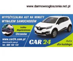 Wypożyczalnia samochodów od 49 zł/d  Chrzanów