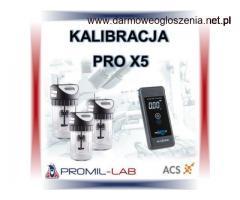 Kalibracja | SERWIS NAPRAWA ALKOMATU PRO X-5 W PROMIL-LAB