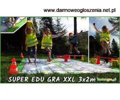 SUPER GRY XXL dla DZIECI - mega wielki format do skakania wielkie GRY XXL